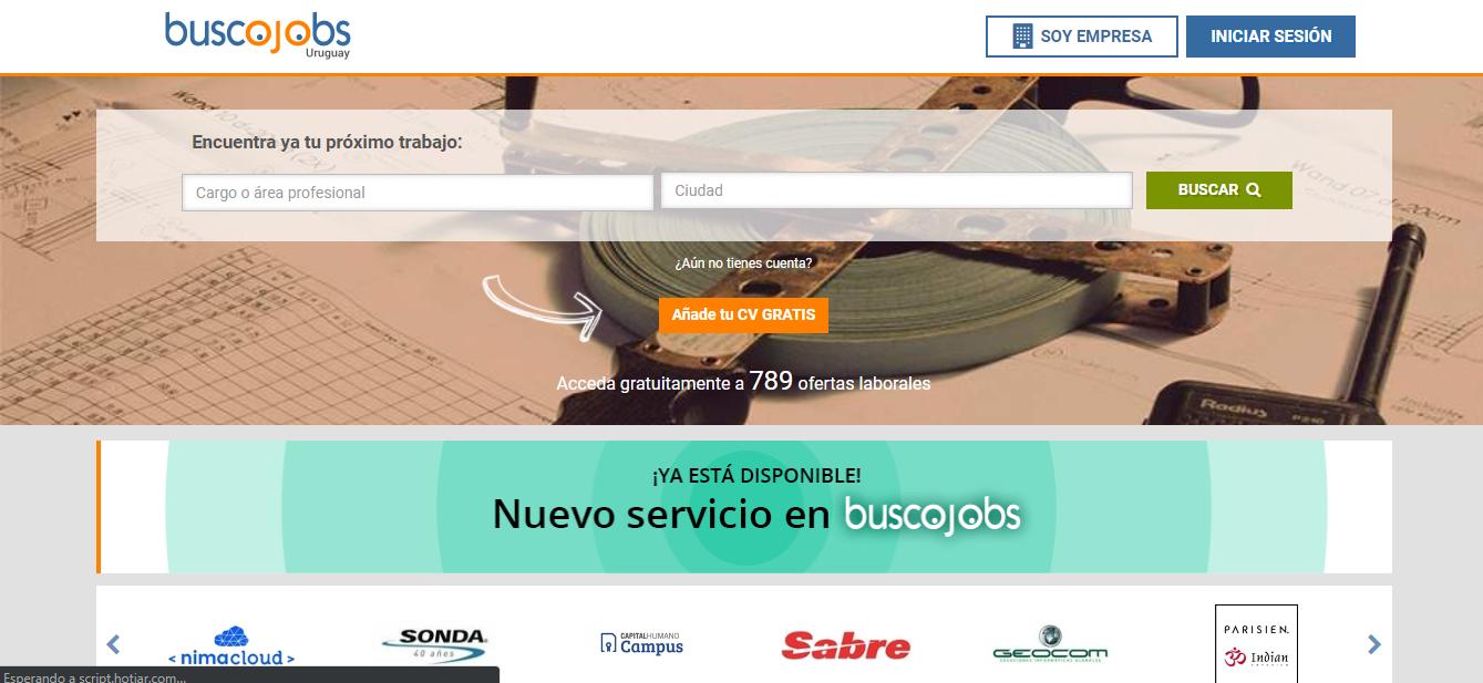 Buscojobs empleos vacantes en uruguay