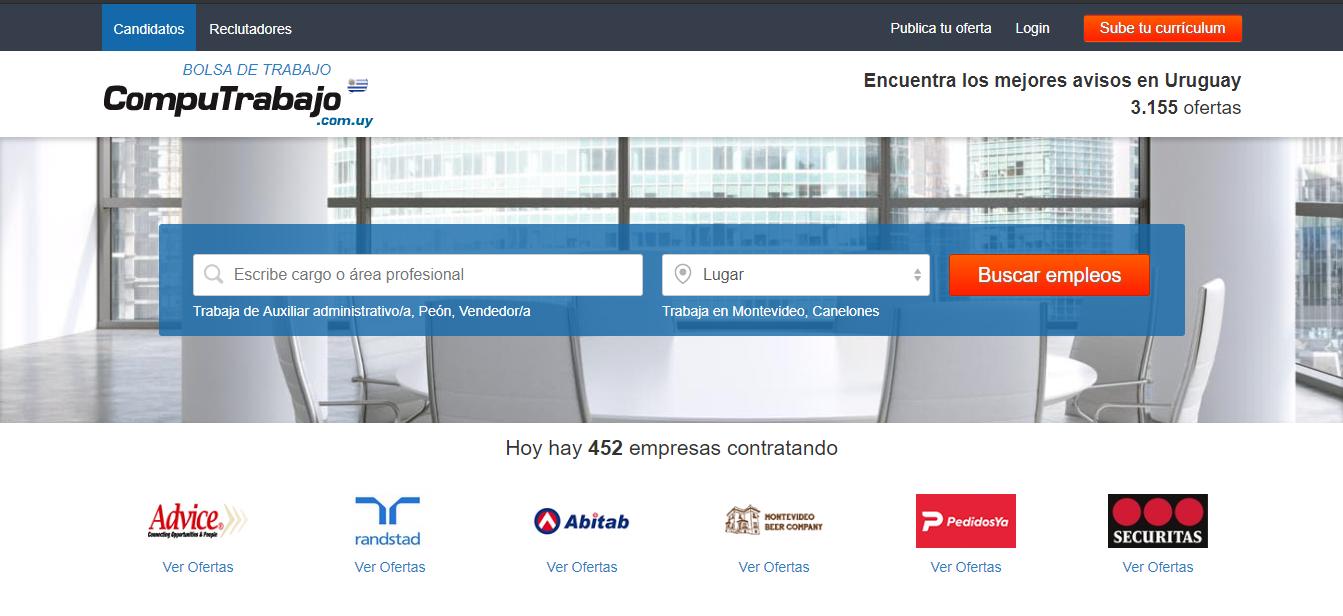 Web de CompuTrabajo