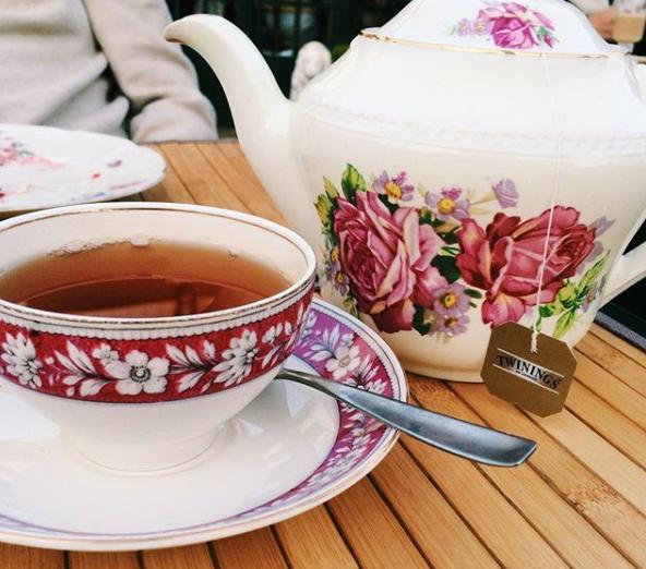 Lavander Tea Room Montevideo